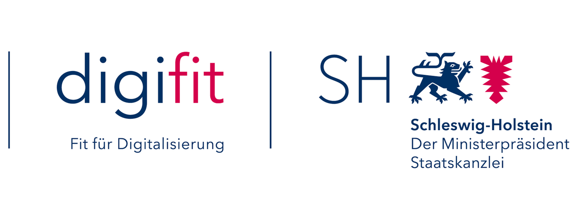Logos digifit und Schleswig-Holstein